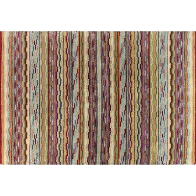 Ashland Multi-color Area Rug Rug Size: 86 x 116
