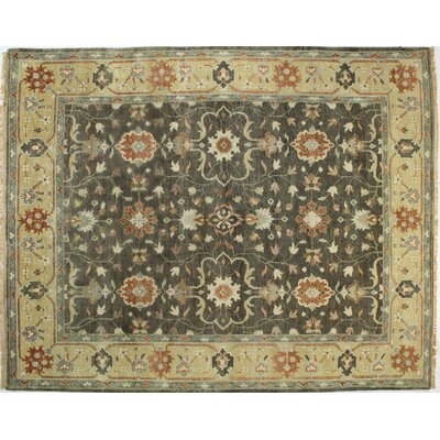 Charleston Chocolate Area Rug Rug Size: 59 x 89