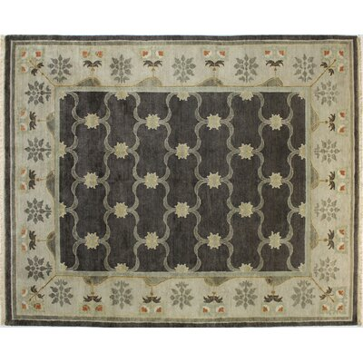 Charleston Chocolate Area Rug Rug Size: Rectangle 79 x 97