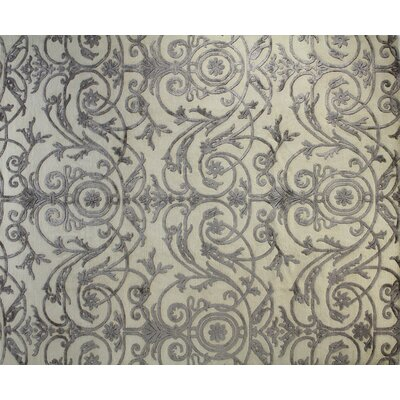 Royale White Area Rug Rug Size: 6' x 9'
