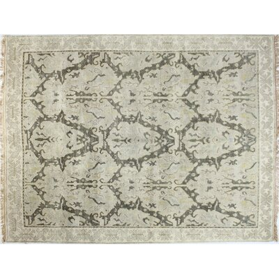 Charleston Grey Area Rug Rug Size: 59 x 89