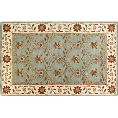 Tymeo Light Green Area Rug Rug Size: 7'6 x 9'6