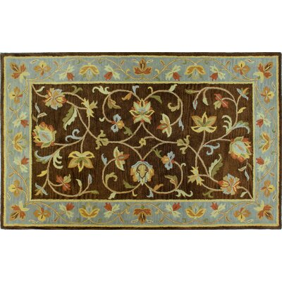Tymeo Chocolate Area Rug II
