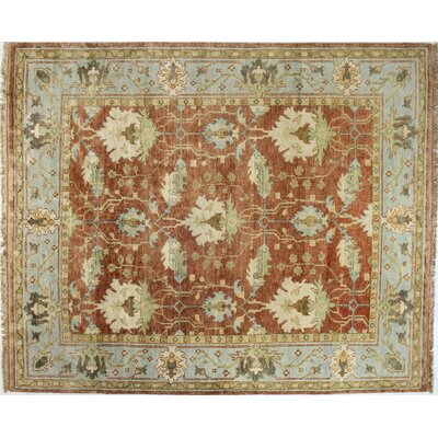 Charleston Rust Area Rug Rug Size: Rectangle 59 x 89