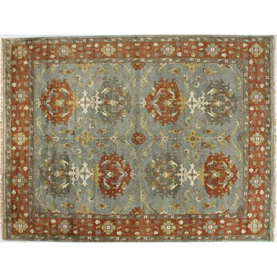 Charleston Slate Area Rug Rug Size: Rectangle 86 x 116