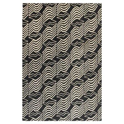 Ashland Black Rug Rug Size: Rectangle 5 x 76