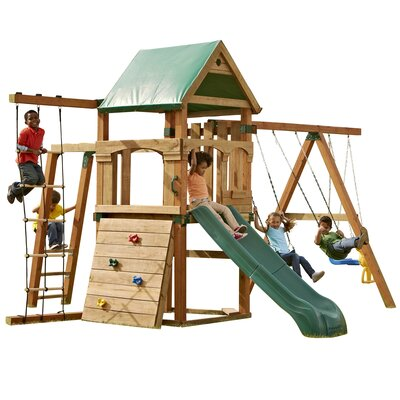 Swing-N-Slide Play Set Trekker Swing Set at Sears.com