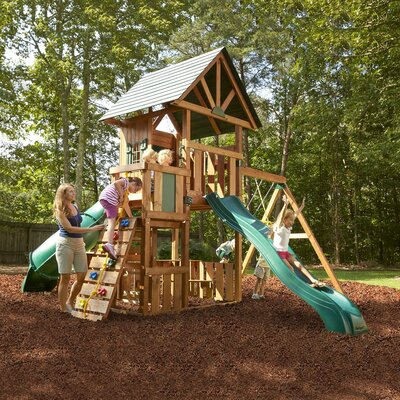 Swing-N-Slide Southampton Wood Complete Swing Set at Sears.com