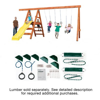 Ready to Build Custom Swing Set Hardware SNS1075