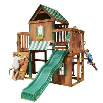 Swing-N-Slide Winchester Wood Complete Swing Set at Sears.com