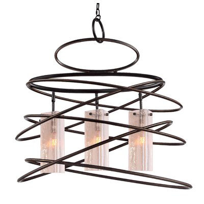 Loop 3-Light Foyer Pendant