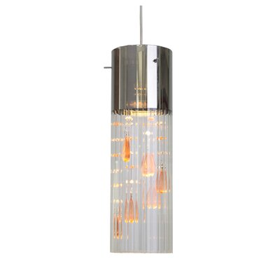 Gem 1-Light  Mini Pendant Shade color: Topaz