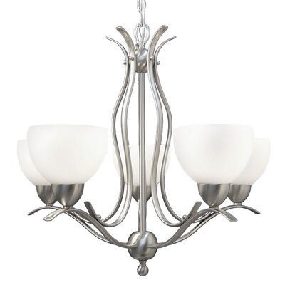 Hampton Ridge 5-Light Shaded Chandelier