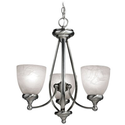 Kenshaw 3-Light Shaded Chandelier