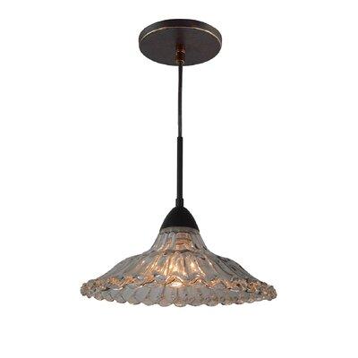 Miranda 1-Light Pendant Finish: Metallic Bronze