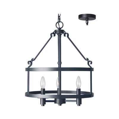 Revere 3-Light Foyer Pendant