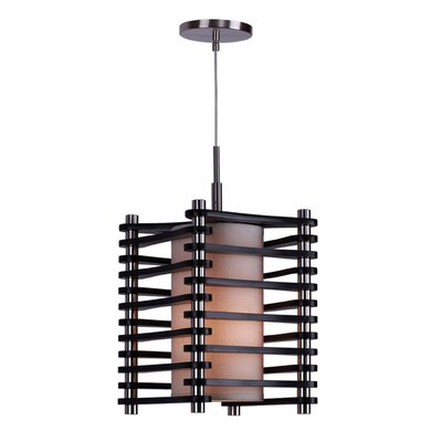 Steps 1-Light Mini Pendant Finish: Satin Nickel