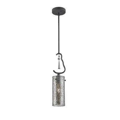 Haley 1-Light Mini Pendant Shade Color: Mirror