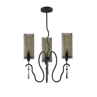 Haley 3-Light Candle-Style Chandelier