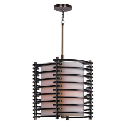 Steps 3-Light Mini Pendant Finish: Brushed Brass