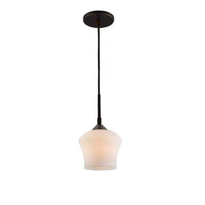 Belmont 1-Light Mini Pendant Finish: Bronze