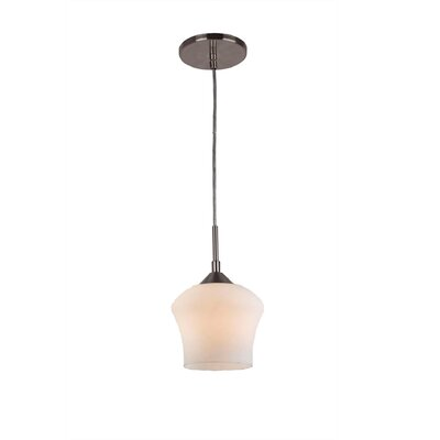 Belmont 1-Light Mini Pendant Finish: Satin Nickel