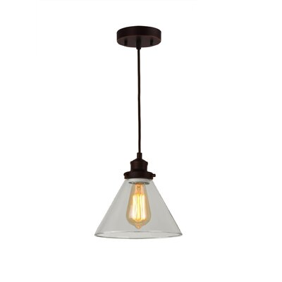 Taylor 1-Light Mini Pendant Finish: Bronze