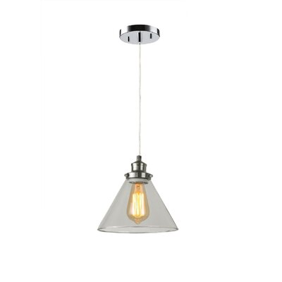 Taylor 1-Light Mini Pendant Finish: Satin Nickel