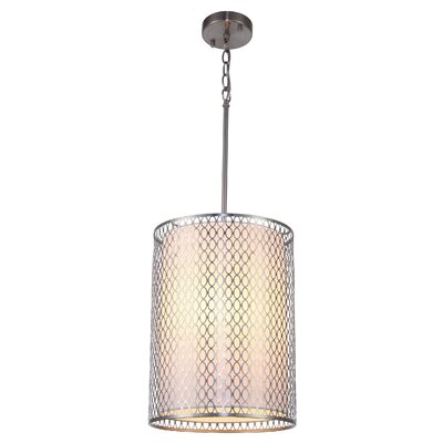 Ferrigno 3-Light Pendant Finish: Satin Nickel