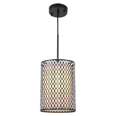 Ferrigno 1-Light Mini Pendant Finish: Bronze