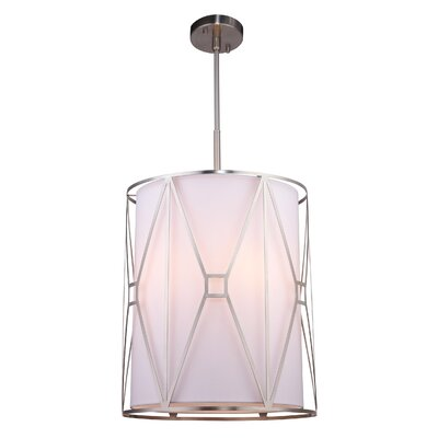 Regan 5-Light Foyer Pendant Finish: Satin Nickel