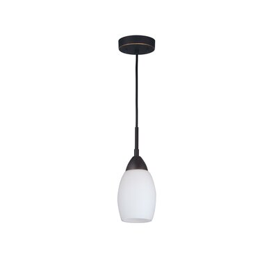 Murphy Modern 1-Light Mini Pendant Finish: Bronze