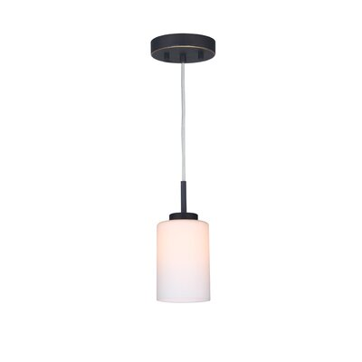 Sadowski 1-Light Mini Pendant Finish: Metallic Bronze