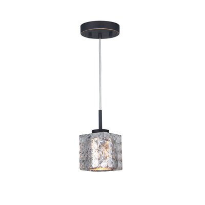 Sadowski 1-Light Steel Mini Pendant Finish: Metallic Bronze