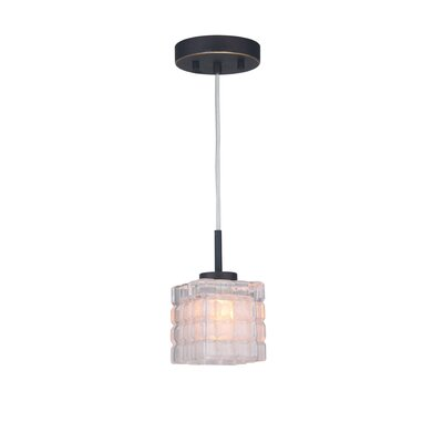 Sadowski Contemporary 1-Light Mini Pendant Finish: Metallic Bronze