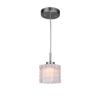 Sadowski Contemporary 1-Light Mini Pendant Finish: Satin Nickel