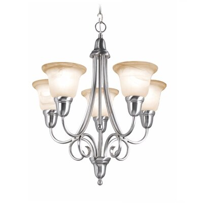 Willhite 5-Light Candle-Style Chandelier
