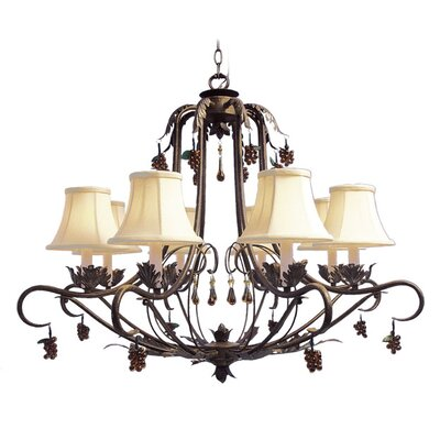 Mccleary 8-Light Candle-Style Chandelier
