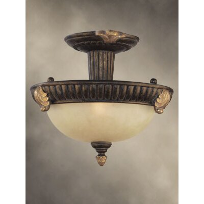 Willingham 2-Light Semi Flush Mount