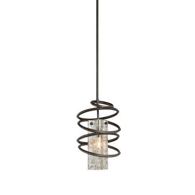 Loop 1-Light Mini Pendant in Black