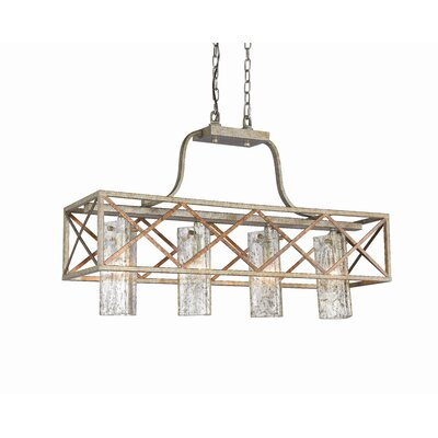 Braid 4-Light Kitchen Island Pendant