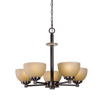 Ajo 5-Light Shaded Chandelier