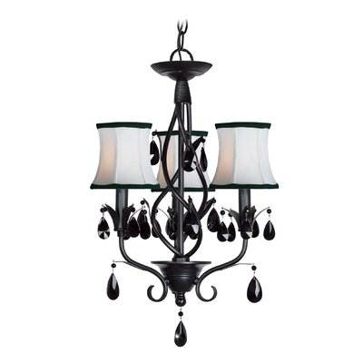 Avigneau 3-Light Shaded Chandelier
