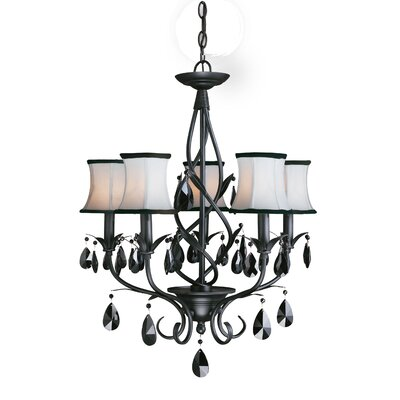 Avigneau 5-Light Shaded Chandelier