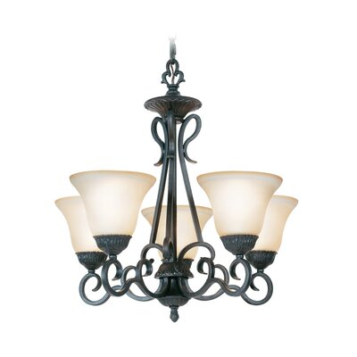 Williford 5-Light Shaded Chandelier