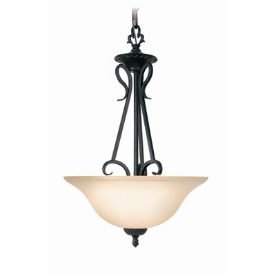 Jamestown 2-Light Inverted Pendant / Foyer