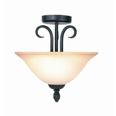 Williford 2-Light Semi-Flush Mount
