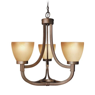 Wayman 3-Light Chandelier