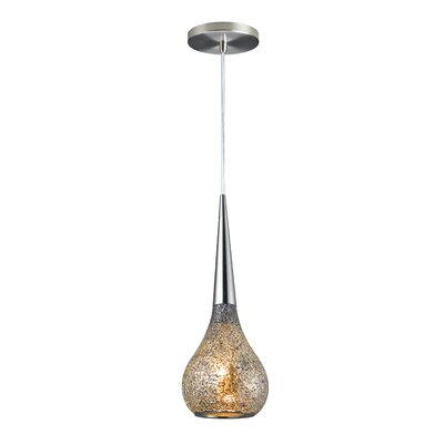 Torine 1-Light Mini Pendant Shade Color: Mirror