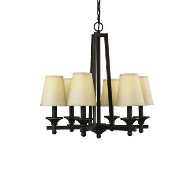 Baxter 6-Light Shaded Chandelier